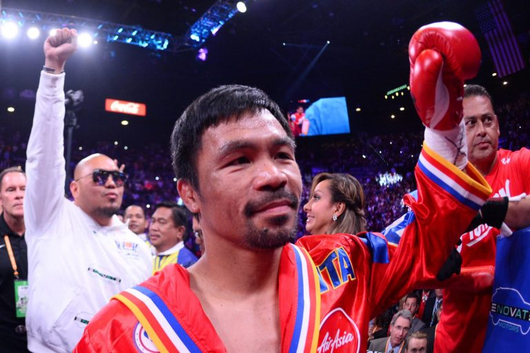 Manny Pacquiao is champion in recess, Yordenis Ugas new WBA champ