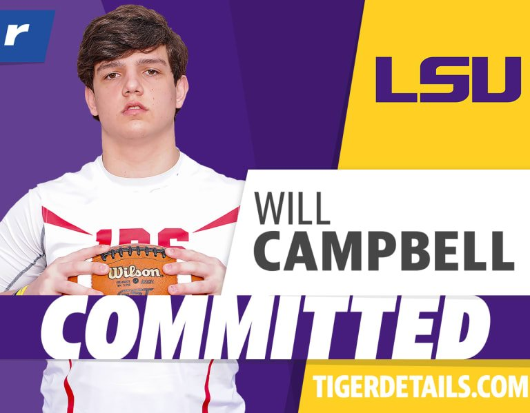 Rivals100 OT Will Campbell commits to LSU