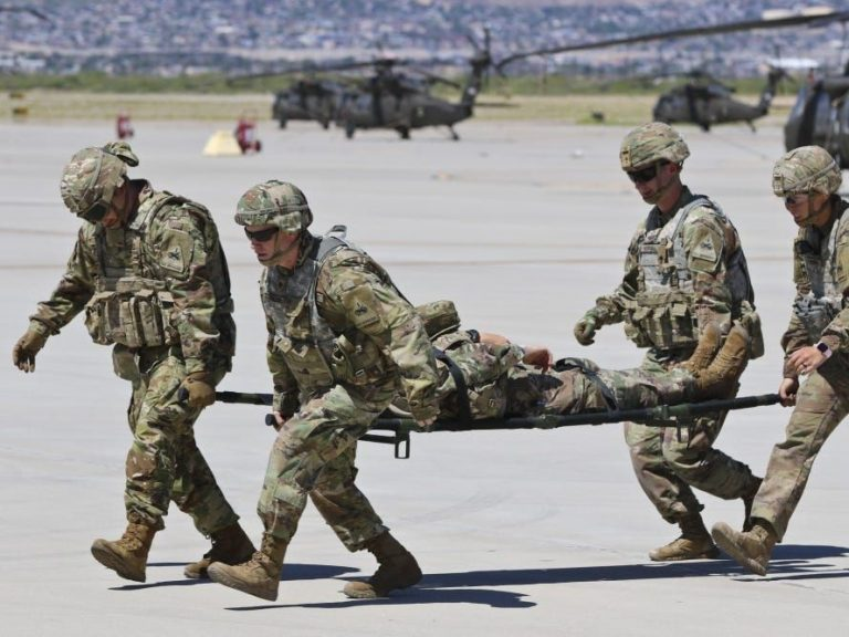 Nearly a dozen US Army soldiers are sick after ingesting an unknown substance