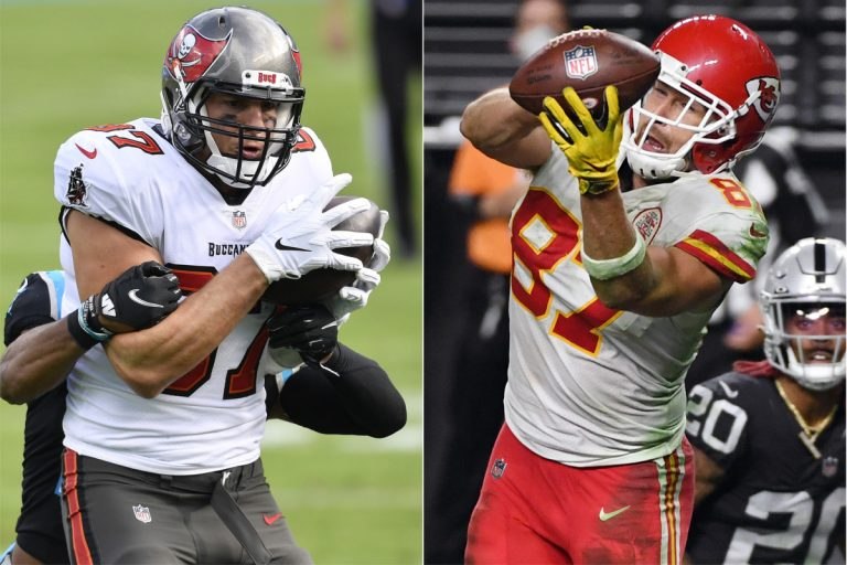 Kelce vs. Gronkowski is tantalizing subplot