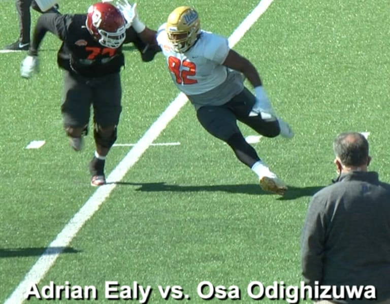 Senior Bowl: OL vs. DL (National)