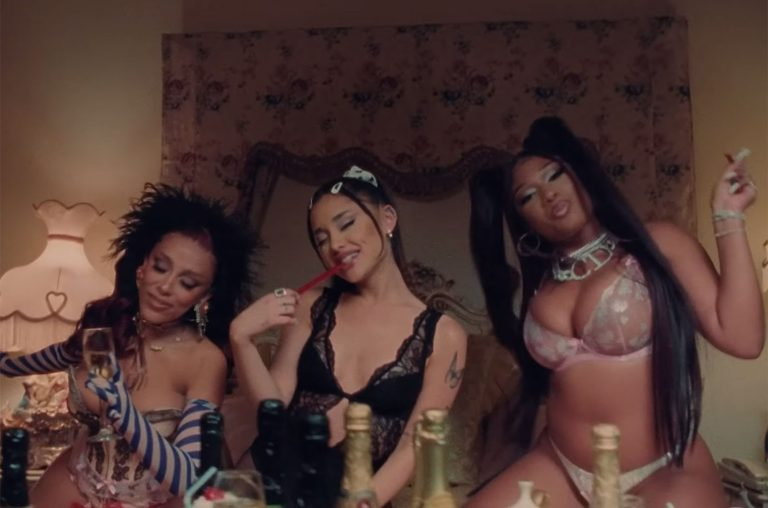 Ariana Grande, Doja Cat, Megan Thee Stallion