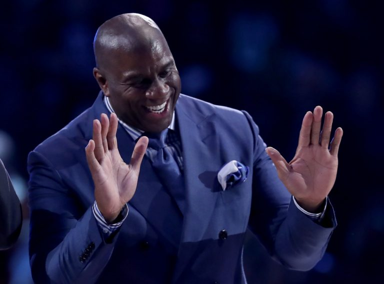 Magic Johnson has an absurd 14 names on his MVP shortlist
