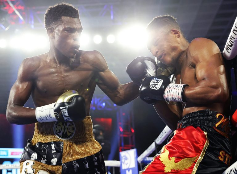 Richard Commey scores vicious TKO against Jackson Marinez in round 6 (Video)