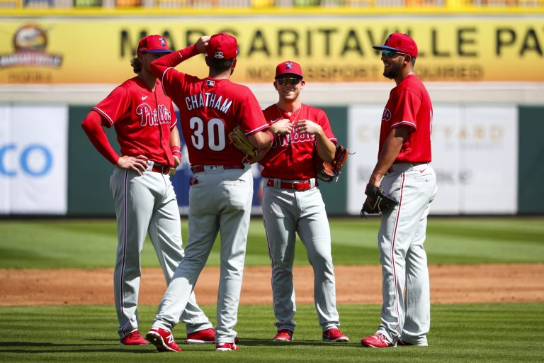 Phillies couldn't even get through the first inning in spring training opener