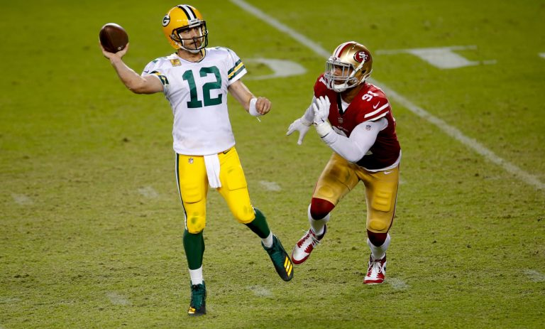 San Francisco has interested in trying to trade for Aaron Rodgers