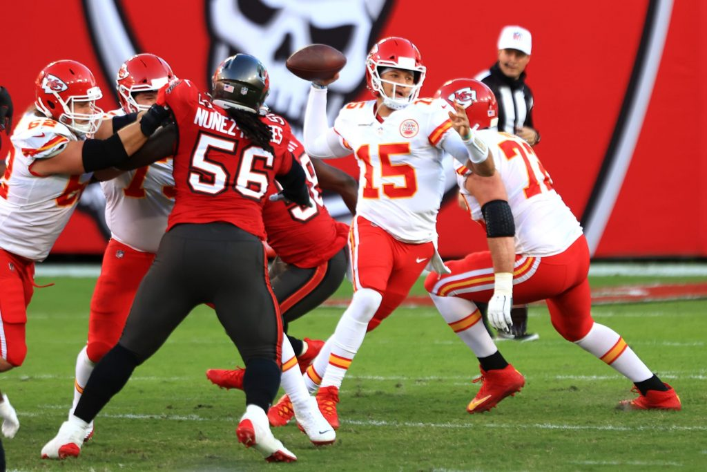 Patrick Mahomes stat doesn't help the Bucs case on Super Sunday