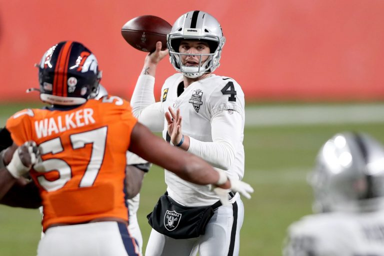 Vegas turned down Colts' interest in a Derek Carr trade