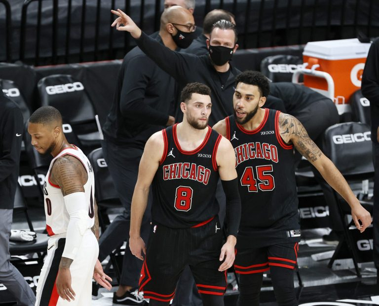 Zach LaVine and the Chicago Bulls are finally moving forward