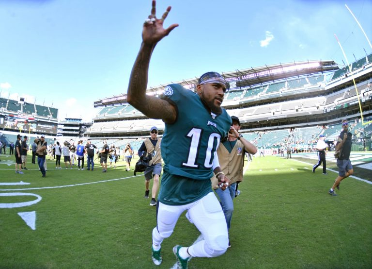 Does DeSean Jackson release pave the way for DeVonta Smith?