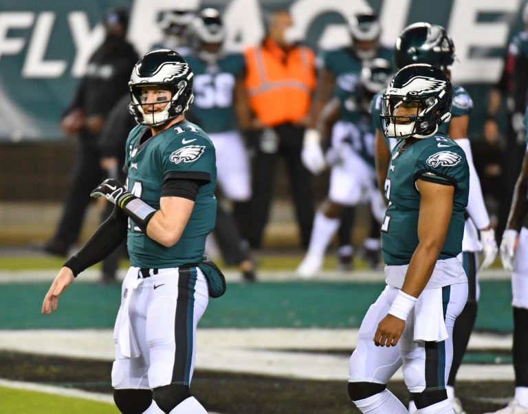 Could Carson Wentz be the next big name quarterback traded?