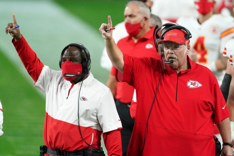 Andy Reid says Eagles never bothered to interview Eric Bieniemy