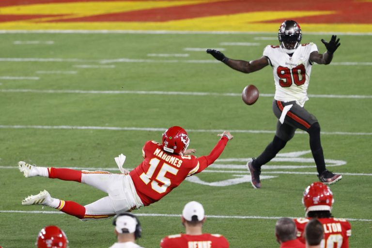Buccaneers players were in awe of Patrick Mahomes during Super Bowl