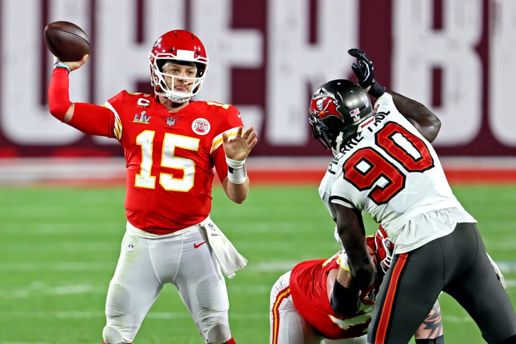 Patrick Mahomes gives credit to Tom Brady, Buccaneers