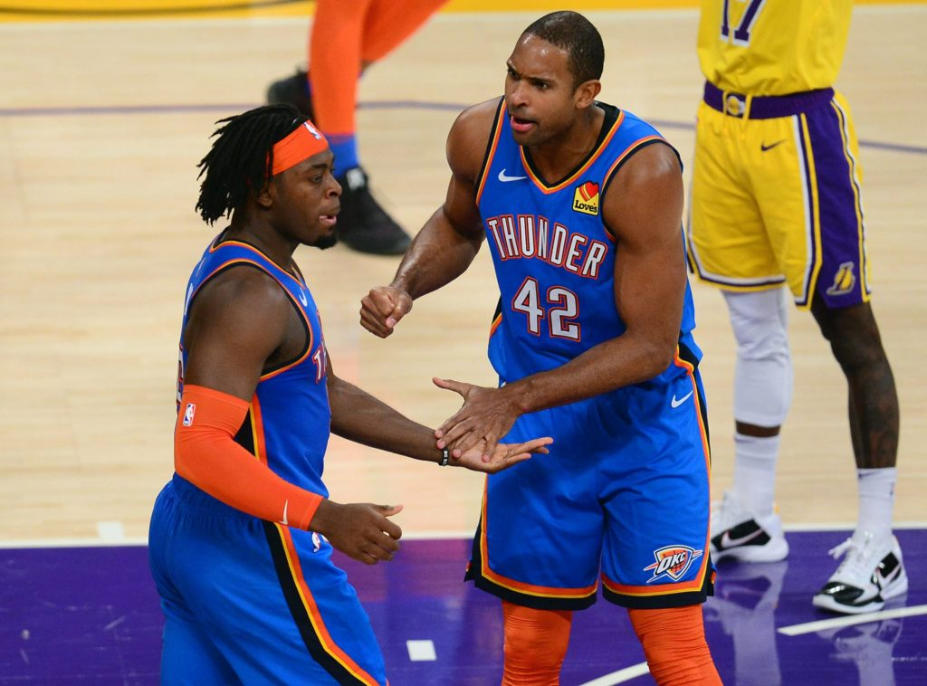 Al Horford says Lu Dort is 'as good as anyone I've seen defend LeBron