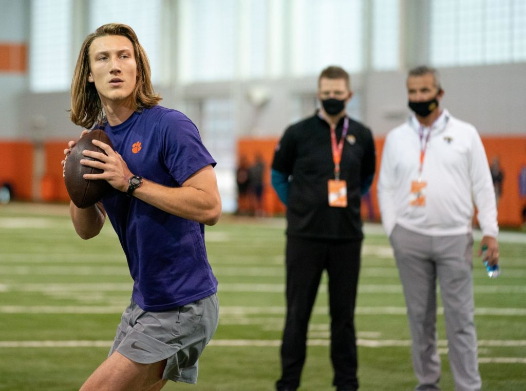What Urban Meyer told Trevor Lawrence before his Pro Day