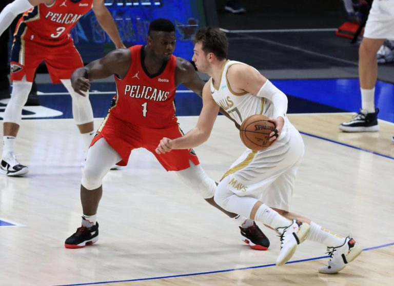 Luka Doncic drops career-high 46 points in duel with Zion Williamson