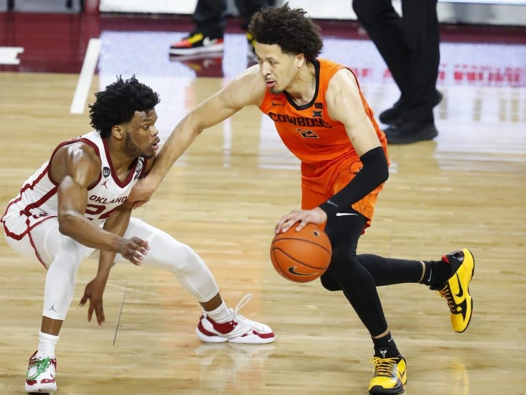Cade Cunningham drops 40 in upset over No. 7 Oklahoma (Video)