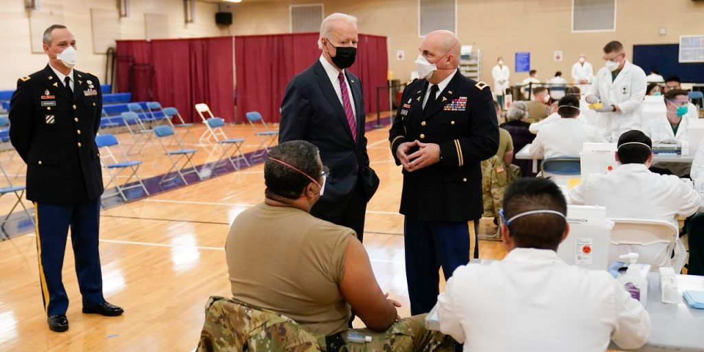 Biden's First Month of Covid-19 Response Marked by Larger Federal Role