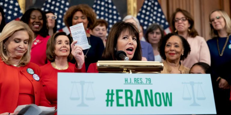 Congress Revives Push for Equal Rights Amendment