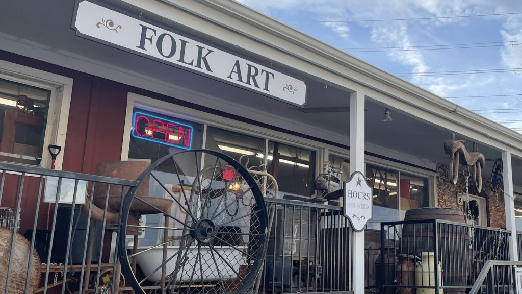 1 Teen's Experience In A Local Antique Mall : NPR