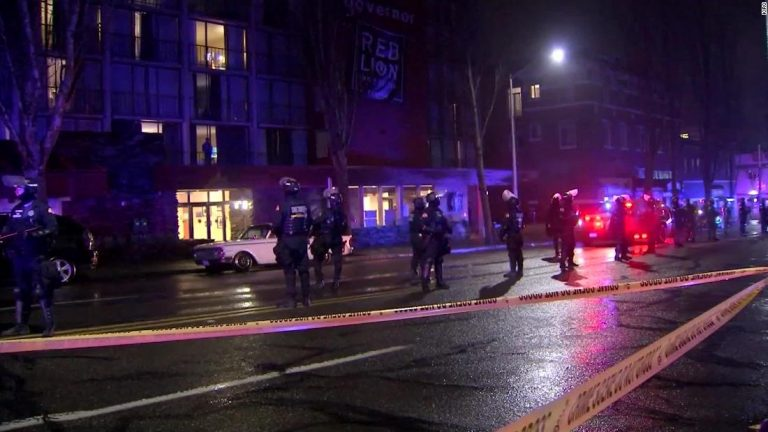 Olympia, Washington police clear out hotel after it was 'occupied' by homeless activist group, city says
