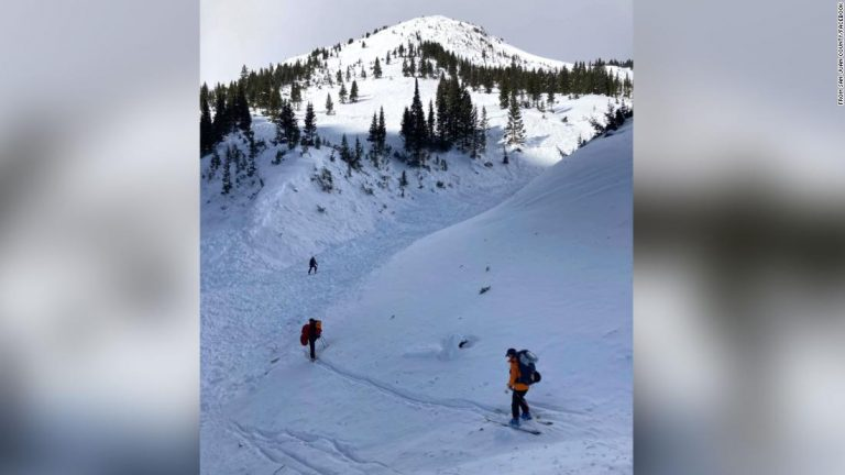 Colorado avalanche: Three skiers presumed dead from are identified as local officials