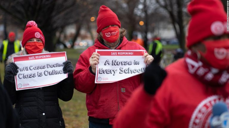 Chicago orders some teachers to resume in-person classes next week, setting up showdown with union