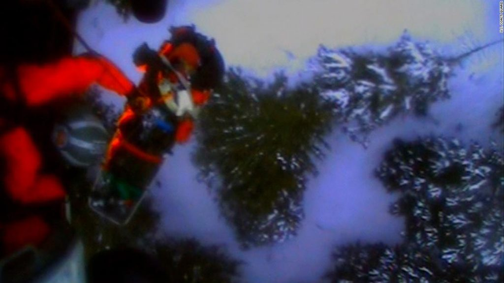 Coast Guard helicopter rescues skier mauled by bear in Alaska