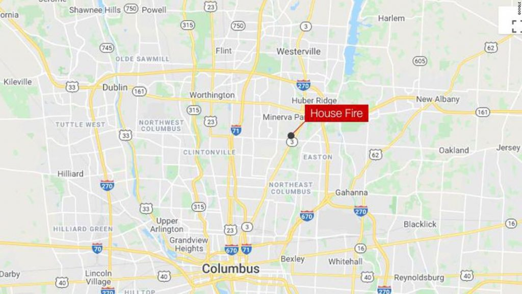 Four-year-old twins in critical condition after house fire in Columbus, Ohio