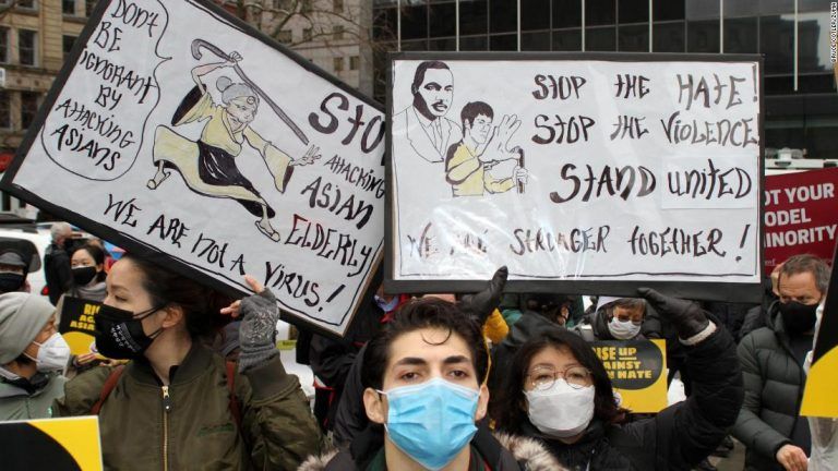 Anti-Asian hate: New Yorkers hold rally