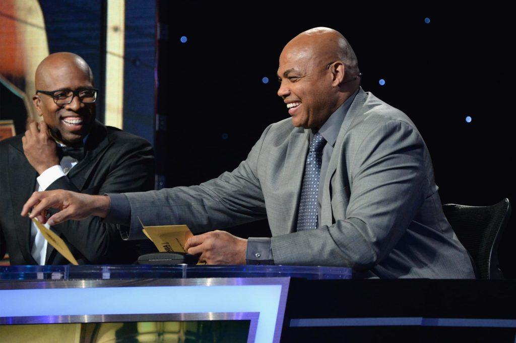 Charles Barkley really did the Silhouette Challenge (Video)