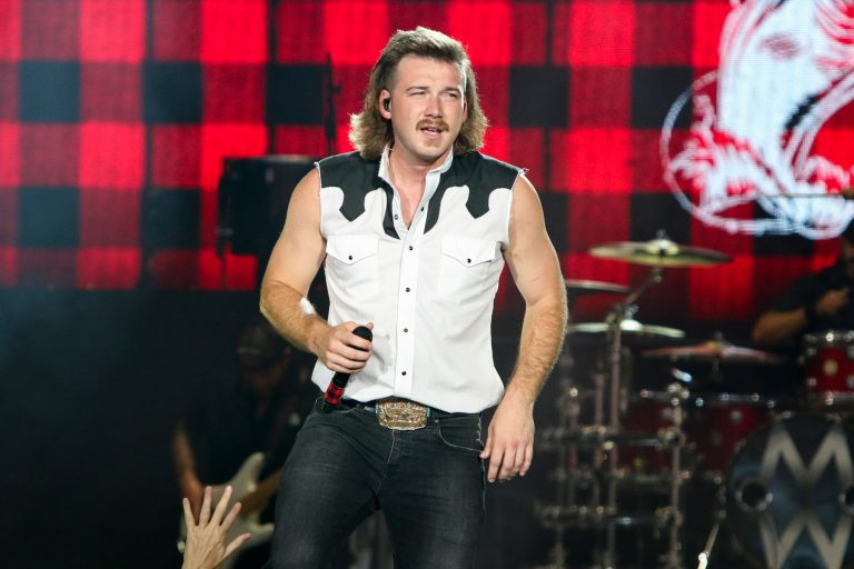 Morgan Wallen performs during the Can't Say I Ain't Country Tour at Cellairis Amphitheatre at Lakewood on Saturday, August 31, 2019, in Atlanta. (Photo by Katie Darby/Invision/AP)
