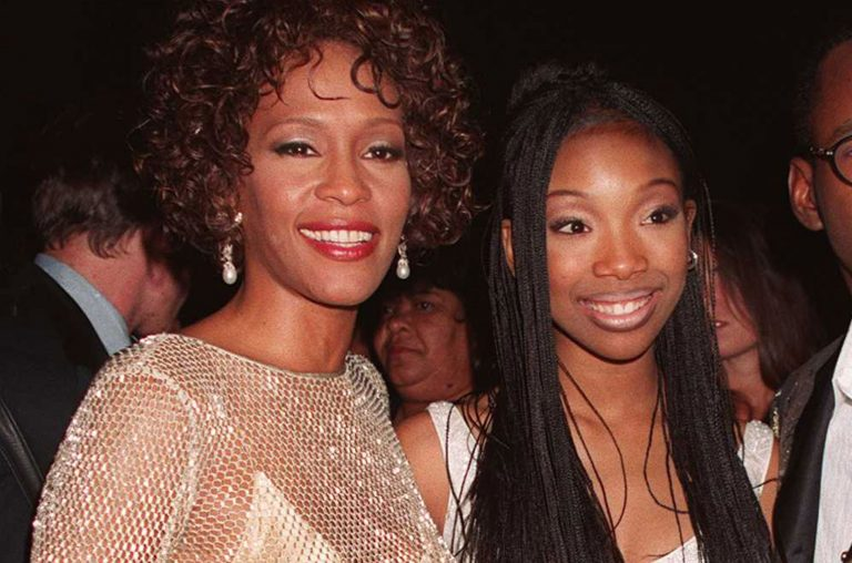 Whitney Houston and Brandy