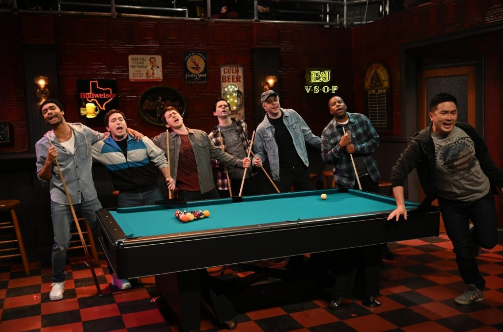 Rege-Jean Page and cast of 'SNL'