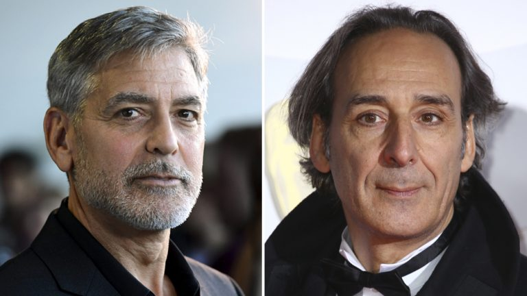 George Clooney, Composer Alexandre Desplat Talk 'Midnight Sky' Music