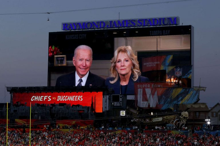 President Joe Biden Halftime Interview