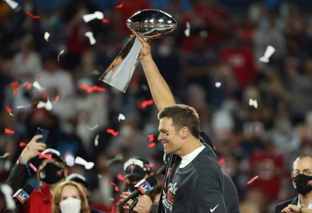 Super Bowl LV: Tom Brady Postgame Interview