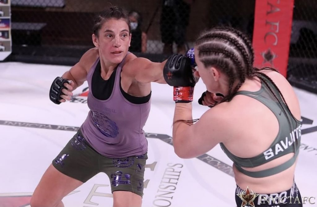 Liv Parker's journey from overweight to Invicta fighter