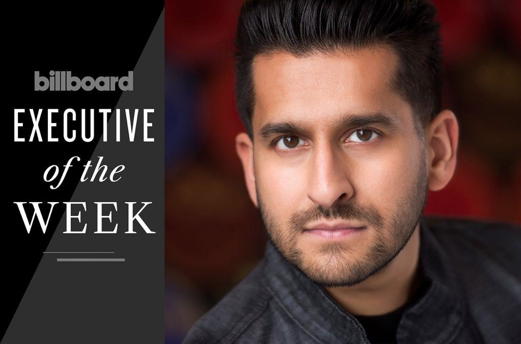 Imran Majid, Columbia Records Co-Head A&R: Exec of the Week