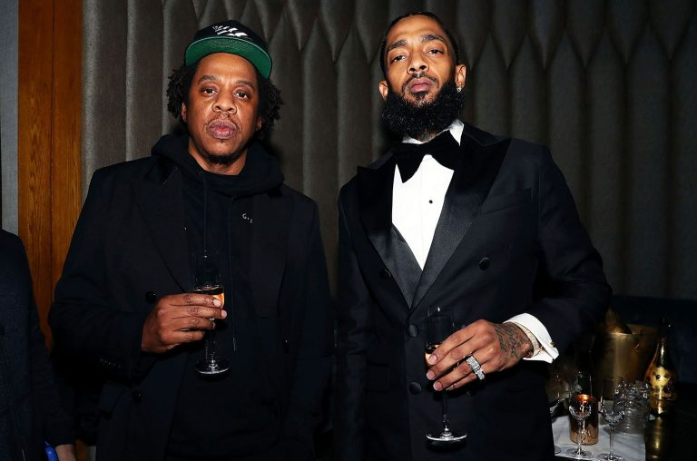 Shawn 'Jay-Z' Carter and Nipsey Hussle