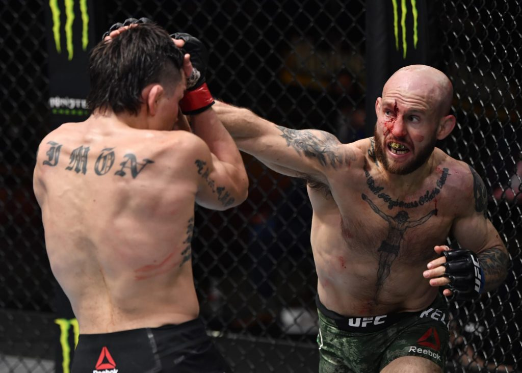 Check out the nasty cut on Brian Kelleher face following UFC 258 loss