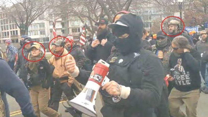 5 People Linked To Proud Boys Are Arrested : NPR