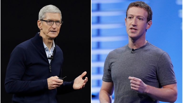 Why Is Facebook Launching An All-Out War On Apple's Upcoming iPhone Update? : NPR