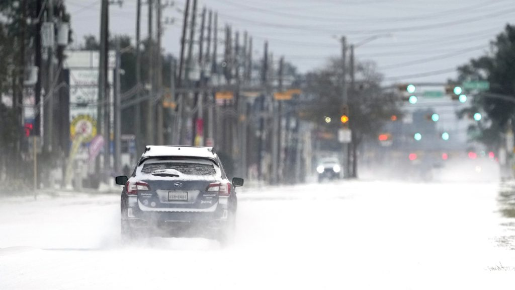 Major Storm Unleashes Ice, Snow And Frigid Temperatures Across Much Of The U.S. : NPR