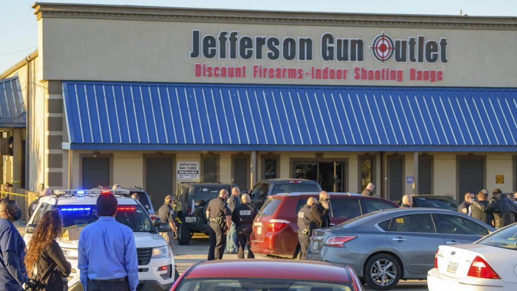 3 Dead, 2 Wounded In Shooting At Gun Store In New Orleans Suburb : NPR