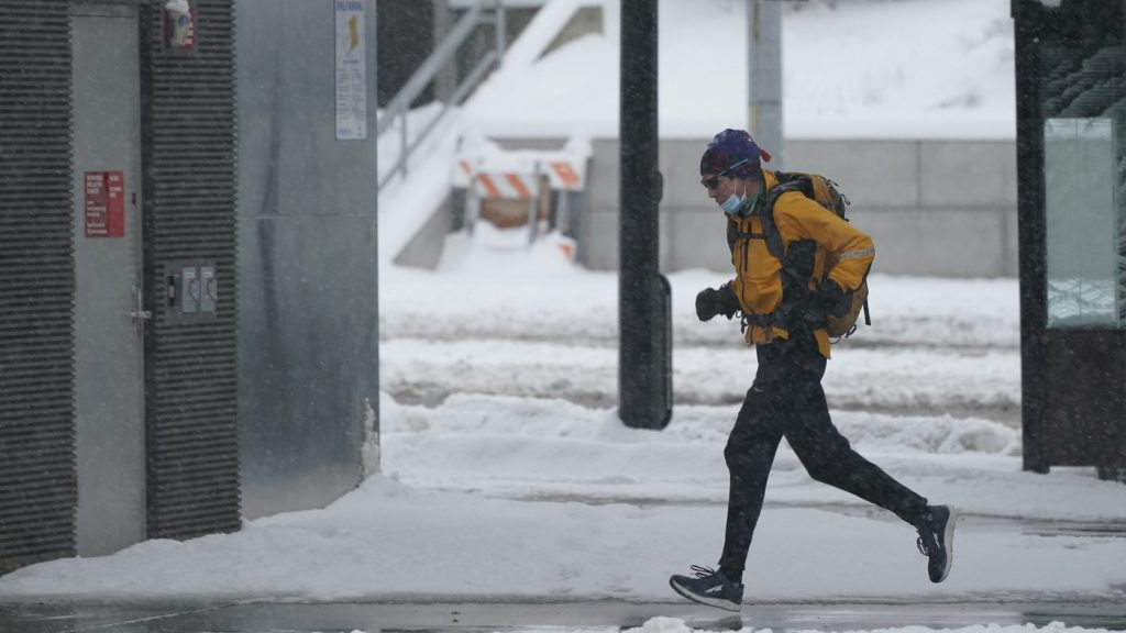 Wintry Conditions Are Expected For Large Swaths Of U.S. Early Into The Week : NPR