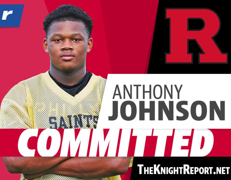 Rivals250 LB Anthony Johnson chooses Rutgers