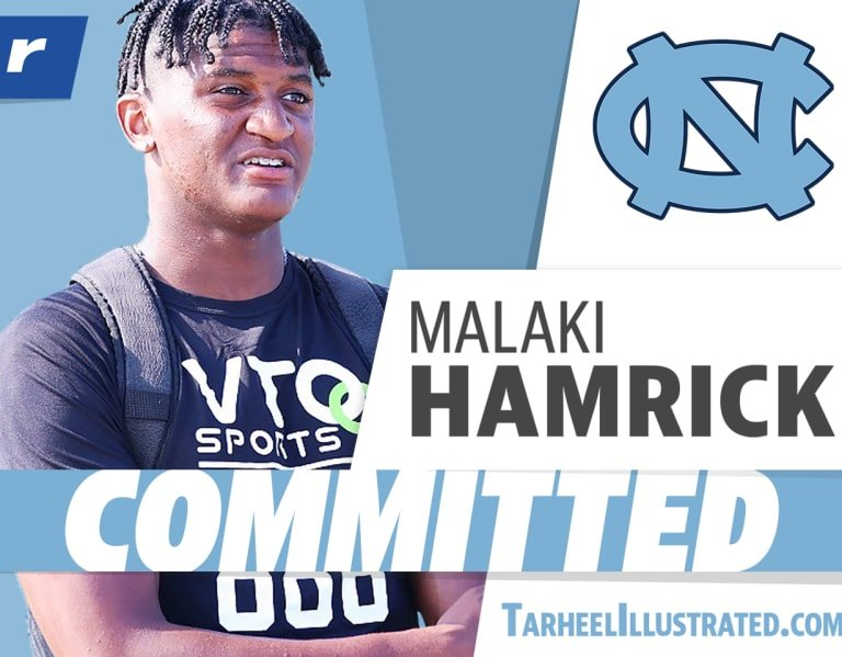 Rivals250 LB Malaki Hamrick chooses North Carolina