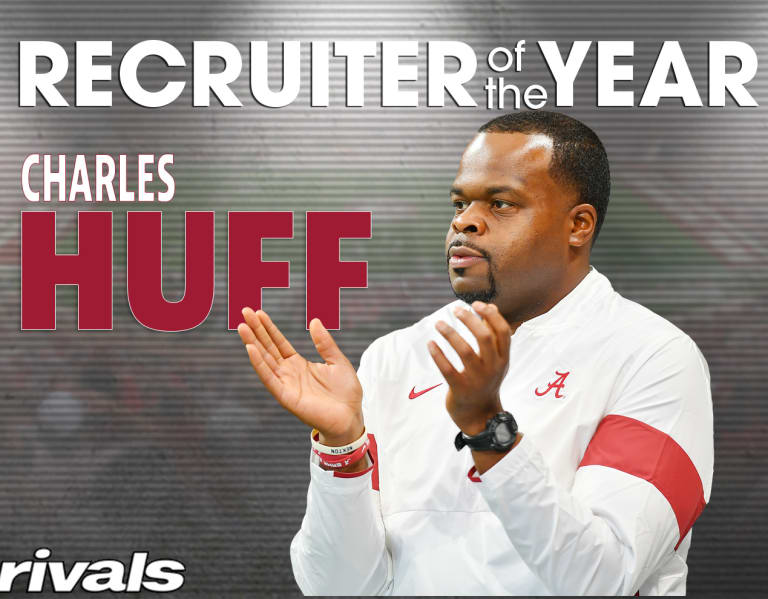 Recruiter of the Year: Alabama assistant Charles Huff